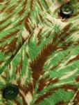 画像7: 1950'S MARK TWAIN WOLF HEADS PRINTED FLANNEL SHIRT JAC SZ/M