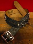 "画像1: RAWHIDE STUDDED & JEWELED BELT LOT-101/A street car named desire/ 1-3/4""[44MM]  (1)"