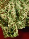 画像9: 1950'S MARK TWAIN WOLF HEADS PRINTED FLANNEL SHIRT JAC SZ/M