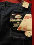1970'S DEADSTOCK CARTER'S UNION MADE DUNGAREES/35X32