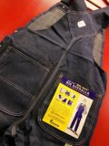 1960'S DEADSTOCK BIG MAC 11-1/4OZ DENIM BIB OVERALLS SZ/32X30