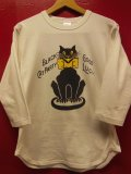 "RAWHIDE ""BLACK CAT"" BASEBALL TEE SHIRT/6.2oz BODY"