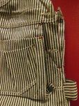 画像6: 1950'S DEADSTOCK PAYDAY EXTRA STRIPE CARPENTERS OVERALLS SZ/44X30