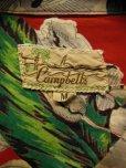 画像3: 1950'S CACMPBELL'S FLOWER PRINTED RAYON HAWAIIAN SHIRT SZ/M