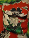 画像8: 1950'S CACMPBELL'S FLOWER PRINTED RAYON HAWAIIAN SHIRT SZ/M