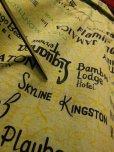 画像13: 1960'S JAMAICAN HOTEL, CLUBMAP PRINTED COTTON SHIRT SZ/M