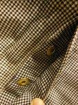 画像7: 1950'S〜 WEARWELL PRINTED GINGHAM DUCK W KNEE OVERALLS 34X29
