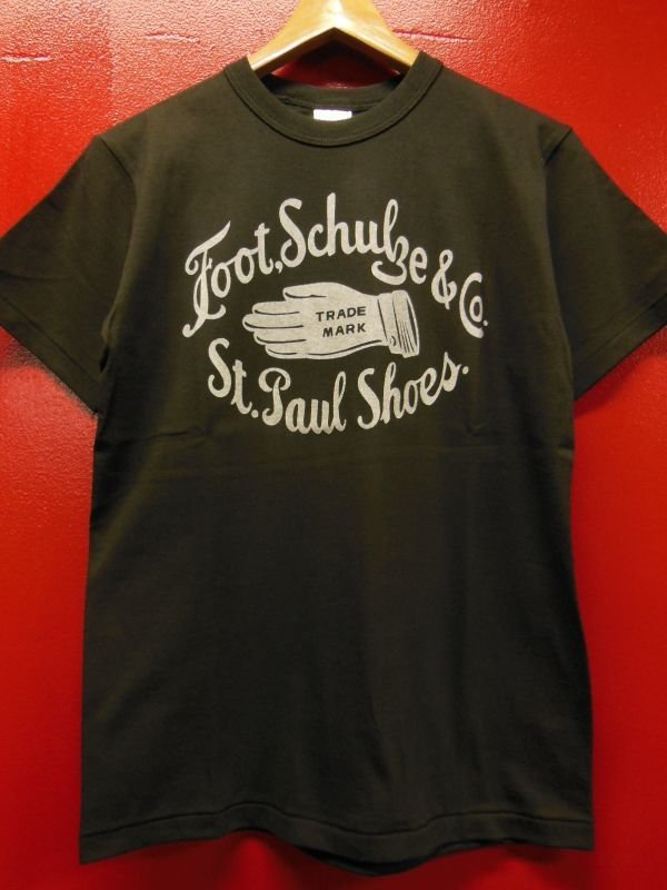 "画像1: RAWHIDE ""ST. PAUL SHOES"" TEE SHIRT/6.2oz BODY"