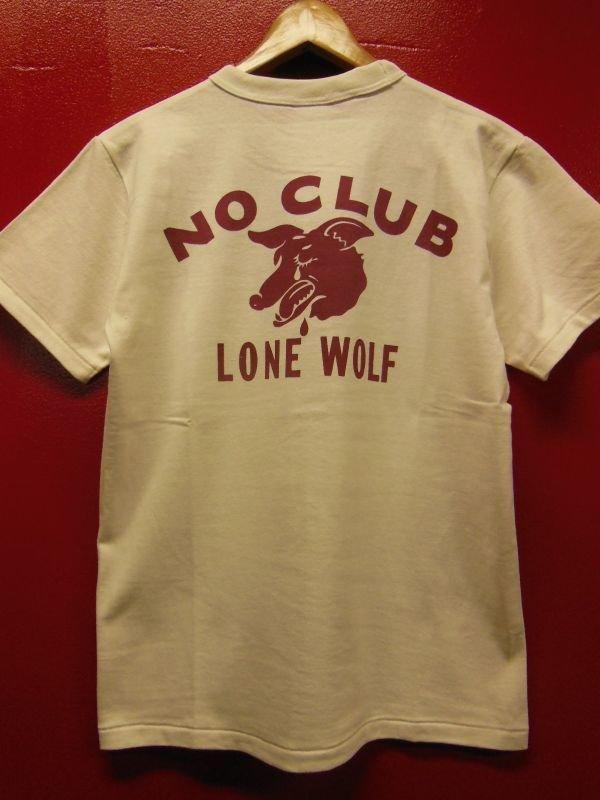 """画像1: RAWHIDE """"LONE WOLF"""" TEE SHIRT/6.2oz BODY"""