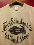 "画像9: RAWHIDE ""ST. PAUL SHOES"" TEE SHIRT/6.2oz BODY (9)"