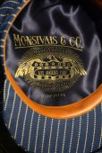 画像2: NEW! MONSIVAIS & COThe National - 8/4 Crown Cap - Wabash Selvedge cotton  (2)
