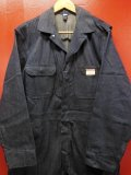 1950'S DEADSTOCK J.C.PENNEY BIG MAC DENIM WORK SUIT ALL IN ONE SIZE/42R