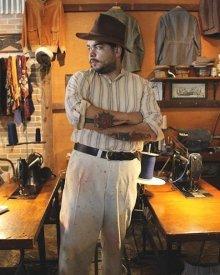他の写真2: NEW! 限定1950年代デッドストック生地使用 MONSIVAIS & CO The National- Vintage 1950s Fleck Tweed - Limited Stock