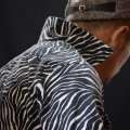 The GROOVIN HIGH Del Mar Town Craft Style Zebra Corduroy A196