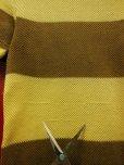 画像7: 〜1950'S JANTZEN COTTON MESH KNIT BORDER TEE/MEDIUM