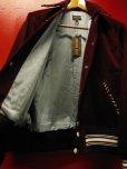 画像10: The GROOVIN HIGH Vintage Style 1950's Zebra Corduroy Jacket/Wine/MEDIUM
