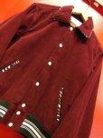 画像7: The GROOVIN HIGH Vintage Style 1950's Zebra Corduroy Jacket/Wine/MEDIUM