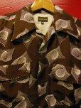 画像6: The GROOVIN HIGH 1950'S Vintage Style Box Shirt Long Sleeves A241 /NAVY/MEDIUM