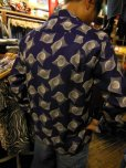 画像9: The GROOVIN HIGH 1950'S Vintage Style Box Shirt Long Sleeves A241 /NAVY/MEDIUM