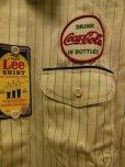 画像7: 1950'S〜 DEADSTOCK LEE COCA-COLA HBT WORK SHIRT SIZE/16-16 1/2