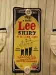 画像6: 1950'S〜 DEADSTOCK LEE COCA-COLA HBT WORK SHIRT SIZE/16-16 1/2