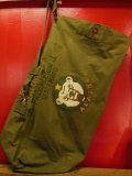 1950'S U.S.ARMY ALASKA HAND PAINTED DUFFLE BAG