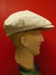 画像5: NEW! MONSIVAIS & COThe National - 8/4 Crown Cap - Cream Slub Cotton (5)