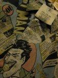 画像8: 90S9/00S デッドストック バットマン ジョーカー 総柄30S/40SプリントシャツSZ//M/ DC COMIC TM BATMAN JOKER