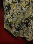 画像10: 90S9/00S デッドストック バットマン ジョーカー 総柄30S/40SプリントシャツSZ//M/ DC COMIC TM BATMAN JOKER