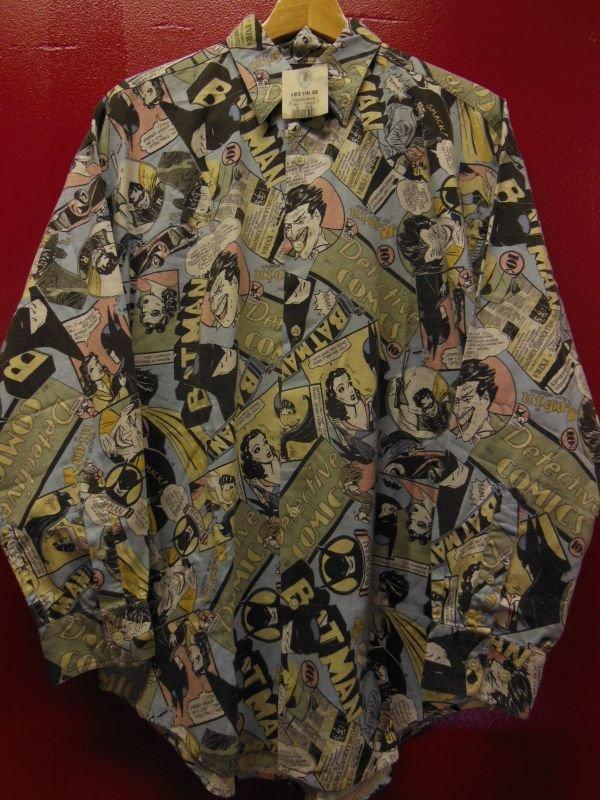 画像2: 90S9/00S デッドストック バットマン ジョーカー 総柄30S/40SプリントシャツSZ//M/ DC COMIC TM BATMAN JOKER
