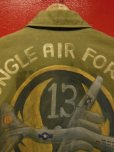 画像9: 1952'S 13TH AIR FORCE HAND PAINTED M-1951 FIELD JACKET/MED-SHORT
