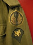 画像4: 1952'S 13TH AIR FORCE HAND PAINTED M-1951 FIELD JACKET/MED-SHORT (4)