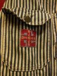 """画像3: 1930'S DICKIES """"SWASTIKA TAG"""" EXTRA STRIPE OVERALLS 34X32"""