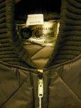 画像10: 1960'S DEADSTOCK WENZEL SPORTSWEAR QUITED NYLON JACKET/DARK BROWN/SZ/MEDIUM