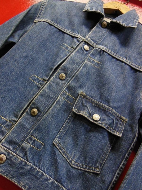 画像1: 1950'S J.C.PENNEY FOREMOST ONE POCKET 1ST TYPE DENIM JACKET