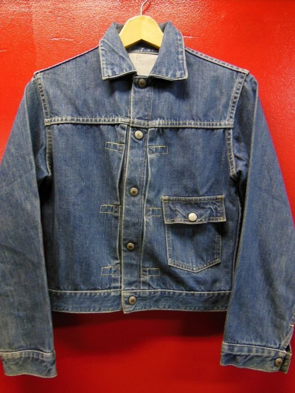 画像2: 1950'S J.C.PENNEY FOREMOST ONE POCKET 1ST TYPE DENIM JACKET