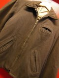 1940'S UNKNOWN BROWNWHIPCORD WOOL SPORTS JACKET/36