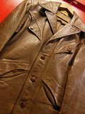 1940'S BLOCK BILT GOATSKIN W SPORTS JACKET/38