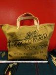 画像10: NEW! MONSIVAIS & CO Tobacco Road Sport Togs Logo Waxed Tote