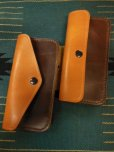 画像10: RAWHIDE TRUCKERS WALLET LOT-504/CAMEL X D,BROWN/UK BRIDLE By J & FJ Baker & Co, (10)