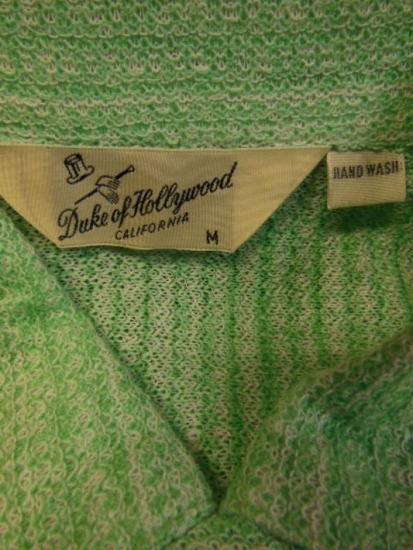 画像2: 1950'S DEADSTOCK 3DUKE OF HOLLYWOOD COTTON KNIT PULLOVER SHIRT SZ/M