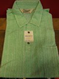 1950'S DEADSTOCK 3DUKE OF HOLLYWOOD COTTON KNIT PULLOVER SHIRT SZ/M
