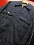 画像1: 1940'S〜 UNKNOWN DENIM WORK JACKET/SZ/MEDIUM (1)