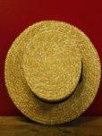 画像7: NEW! 新品 OLNEY STRAW BOATER HAT MADE IN UK/7-1/4 (59cm)ストローハットカンカン帽