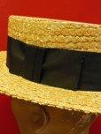画像10: NEW! 新品 OLNEY STRAW BOATER HAT MADE IN UK/7-1/4 (59cm)ストローハットカンカン帽