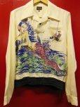 画像4: The GROOVIN HIGH A287 2021S/S 1940's Rayon Pullover Shirt L/S Made to order 12月13日迄予約受付 2021年3-4月納品予定