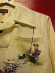 画像5: The GROOVIN HIGH A287 2021S/S 1940's Rayon Pullover Shirt L/S Made to order 12月13日迄予約受付 2021年3-4月納品予定