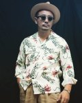 The GROOVIN HIGH 2021S/S A279 Vintage Style 1950's Rayon Shirt L/S  12月13日迄予約受付/2021年4-5月納品予定