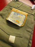 1960'S DEADSTOCK OLD KENTUCKEY PERMANENT PRESS SLIM PANTS