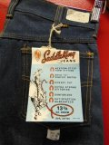 1960'S~ DEADSTOCK KEY SADDLE KING 13-3/4 OZ DENIM JEANS/SIZE 30X28